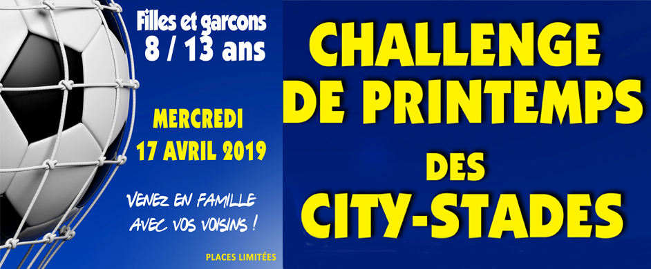 Challenge de printemps des city-stades de GAP le 17 avril 2019